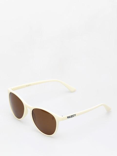 Slnečné okuliare Majesty Rush (beige/polarised brown lens)
