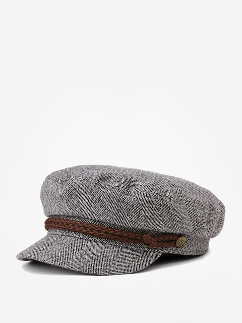 Klobúk so šiltom Brixton Fiddler Cap (heather grey/cream)