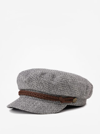 Klobu00fak so u0161iltom Brixton Fiddler Cap (heather grey/cream)