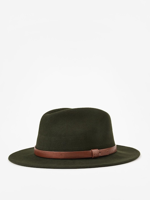 Klobúk Brixton Messer Fedora (hunter)