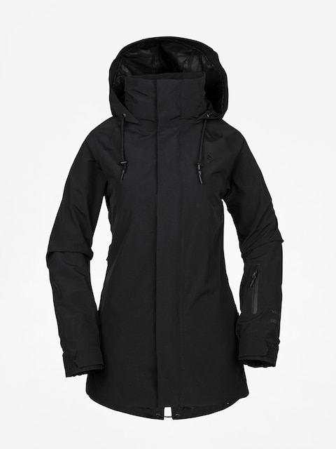 Snowboardová bunda Volcom Leda Gore Tex Wmn (blk)