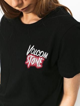 Tričko Volcom Skullactic Wave Wmn (blk)