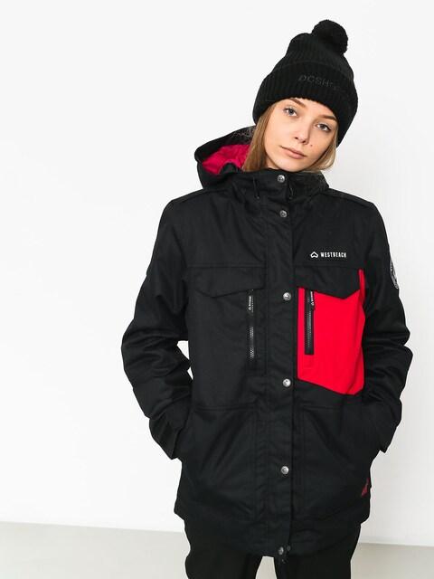 Snowboardová bunda Westbeach Waltz Wmn (black/cherry)