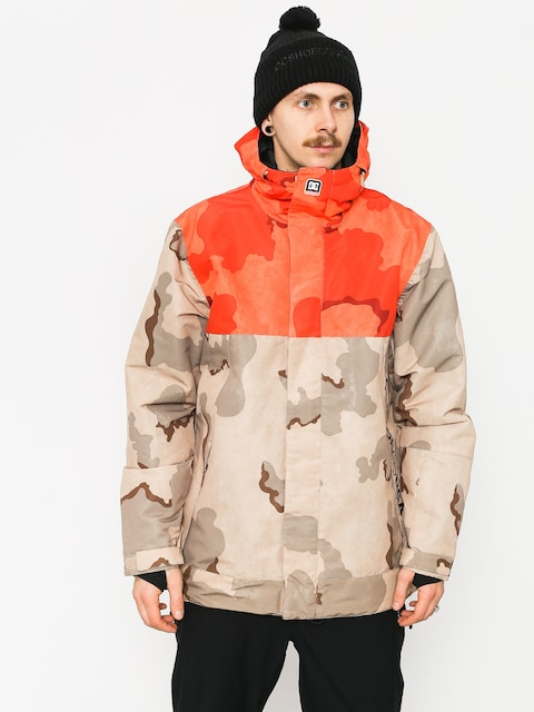 Snowboardová bunda DC Defy (incense dcu camo men)