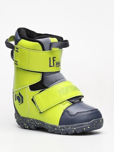 Detská obuv na snowboard Northwave Lf Kid (lime)
