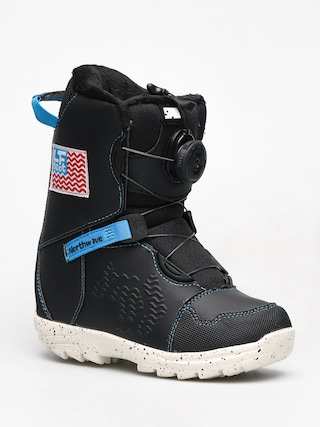 Detská obuv na snowboard Northwave Lf Spin (black)