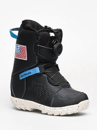 Detsku00e1 obuv na snowboard Northwave Lf Spin (black)