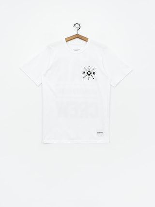 Tričko Diamante Wear Bad Motherfuckers Wmn (white)