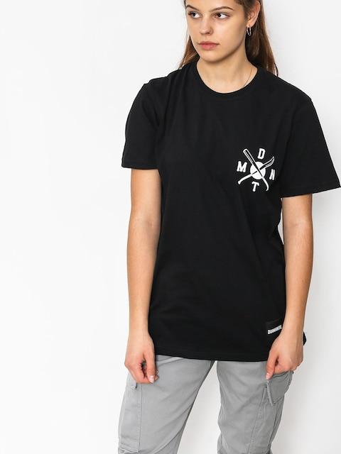 Tričko Diamante Wear Bad Motherfuckers Wmn (black)