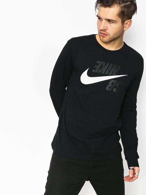 Triko Nike SB Sb Backwards (black/phantom)