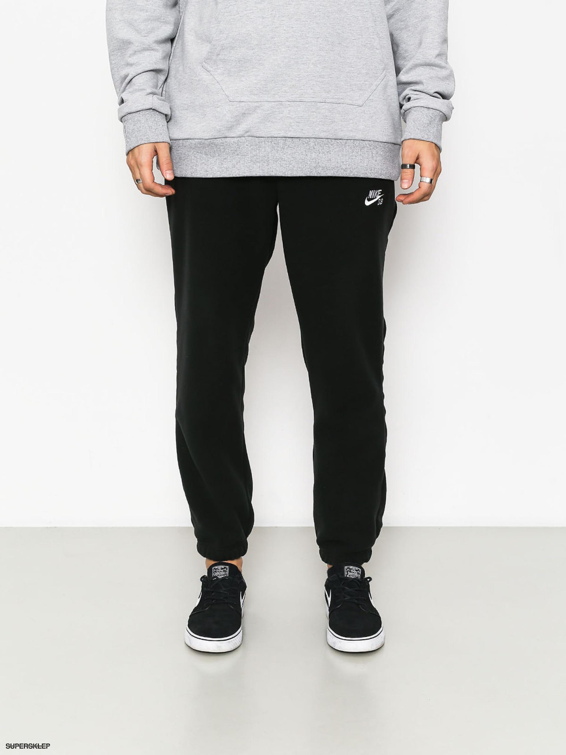 2b3684a008 Nohavice Nike SB Sb Polartec (black white)