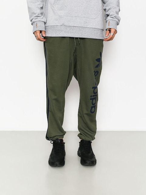 Nohavice adidas Bb Sweatpants (basgrn/conavy)