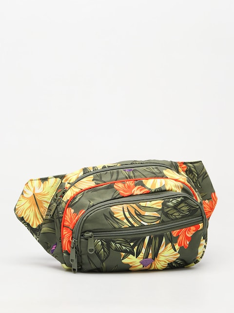 Ľadvinka Diamond Supply Co. Aloha Floral Fanny Pack (olive)