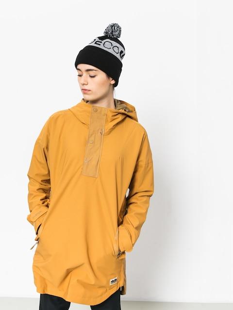 Snowboardová bunda Burton Chuteout Anorak Wmn (camel)