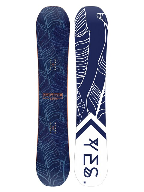 Snowboard Yes Emoticon Wmn (white/navy)