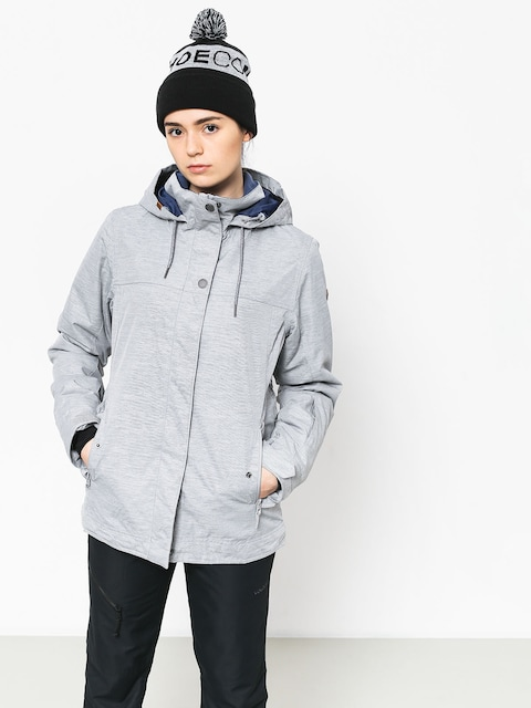 Snowboardová bunda Roxy Billie Wmn (warm heather grey)