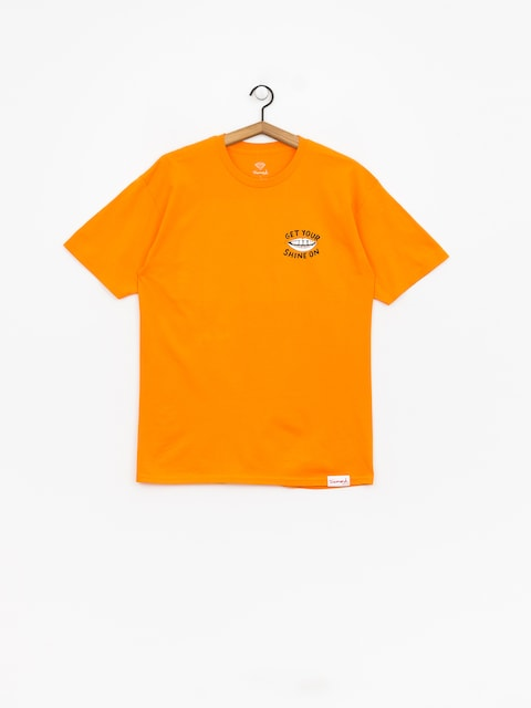 Tričko Diamond Supply Co. Shine On (orange)