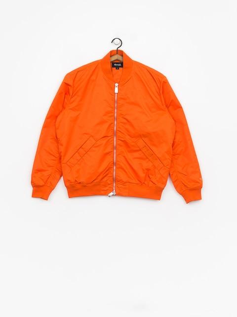 Bunda Diamond Supply Co. Panelled Bomber (orange)