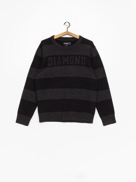 Sveter Diamond Supply Co. Striped Wool (black)