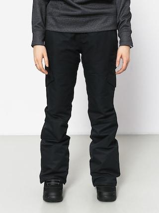Snowboardové nohavice Volcom Bridger Ins Wmn (blk)