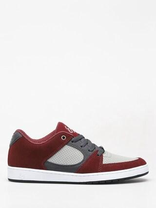 Topánky Es Accel Slim (red/grey)