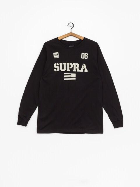 Triko Supra Team Usa (black/bon)