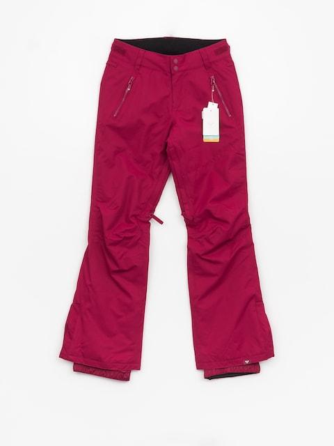 Snowboardové nohavice Roxy Winterbreak Wmn (beet red)