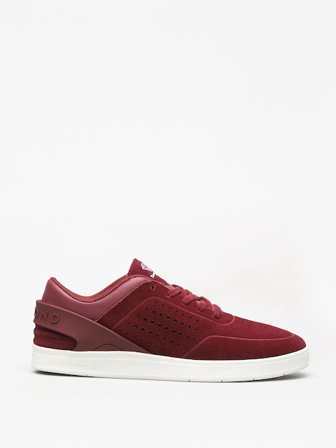 Topánky Diamond Supply Co. Graphite (burgundy)