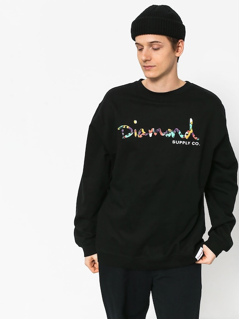 Mikina Diamond Supply Co. Og Script Fasten