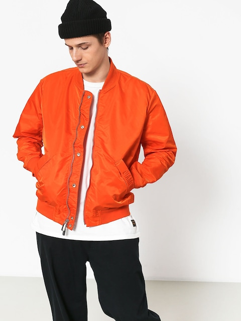 Bunda Diamond Supply Co. Panelled Bomber (orange)