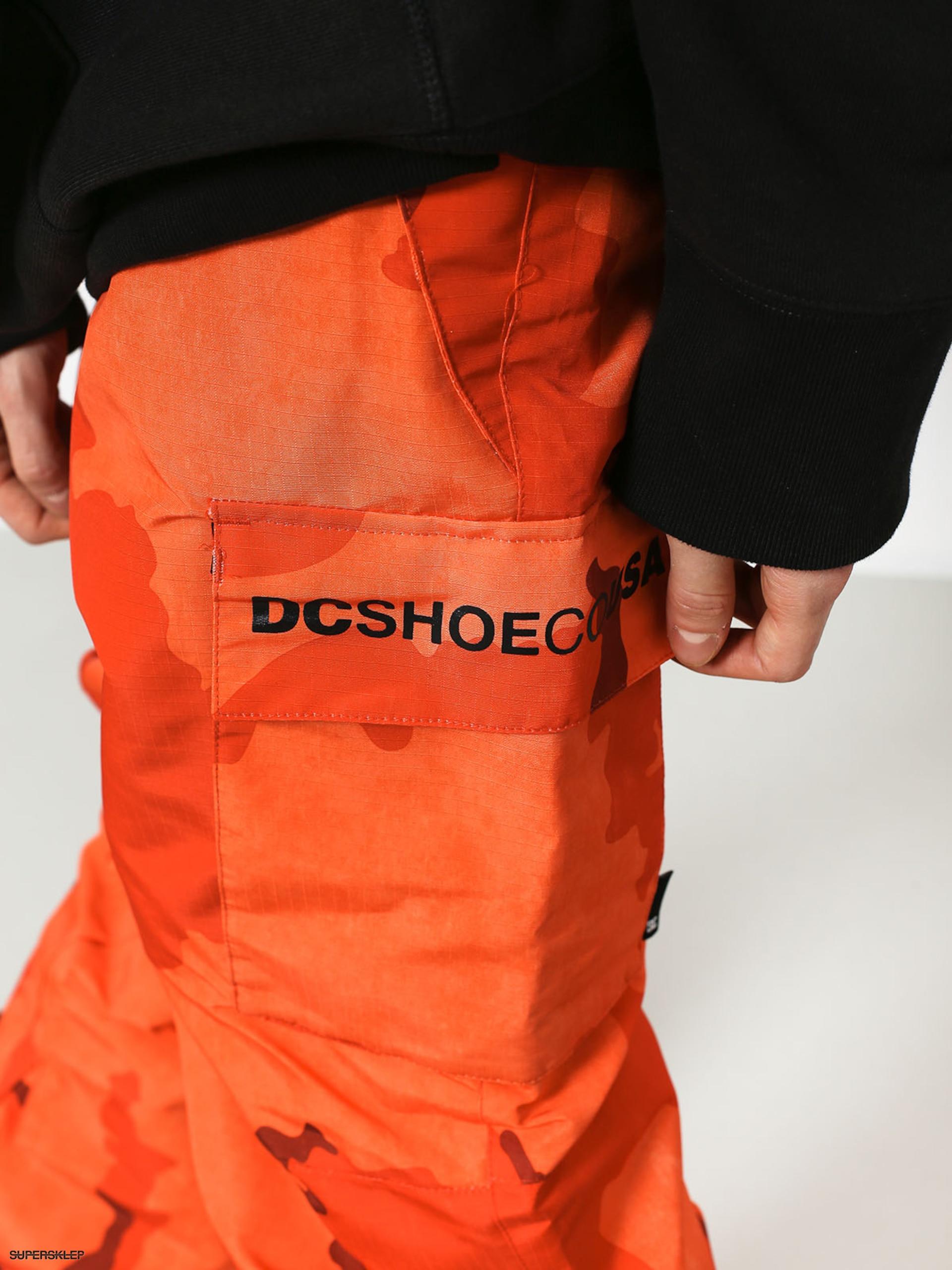 3c5976316 Snowboardové nohavice DC Banshee (red orange dcu camo)