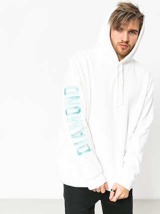 Mikina s kapucňou Diamond Supply Co. Polar HD (white)