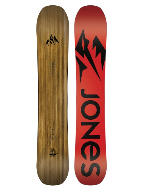 Snowboard Jones Snowboards Flagship (red/black)