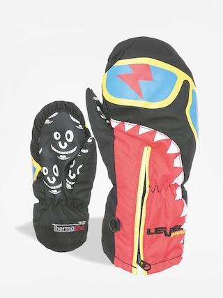 Detské rukavice Level Lucky Mitt (ninja black)