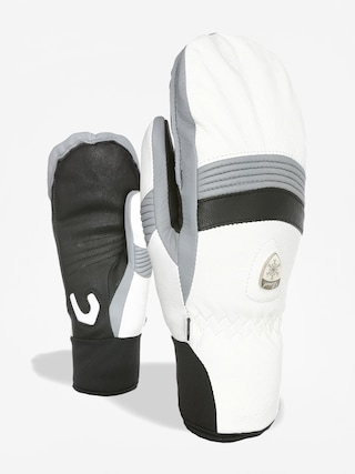 Rukavice Level Off Piste Leather Mitt Wmn (white)