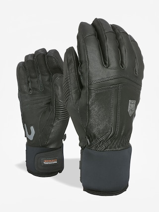 Rukavice Level Off Piste Leather Wmn (black)