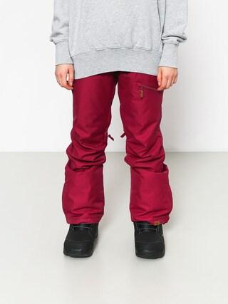 Snowboardovu00e9 nohavice Roxy Nadia Wmn (beet red)