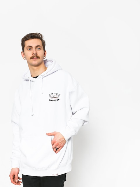 Mikina s kapucňou Diamond Supply Co. Shine On (white)