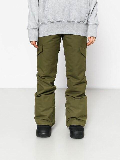 Snowboardové nohavice Volcom Bridger Ins Wmn (mil)