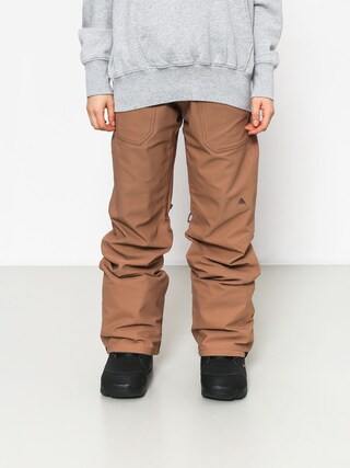 Snowboardovu00e9 nohavice Burton Veazie Wmn (brownie)
