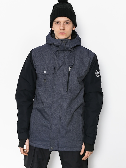 Snowboardová bunda Quiksilver Mission Deni (dress blues)