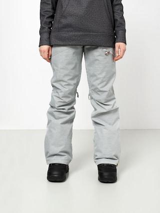Snowboardové nohavice Roxy Nadia Wmn (warm heather grey)