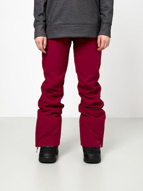Snowboardové nohavice Roxy Rising High Wmn (beet red)