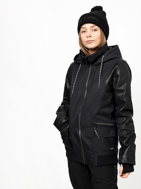 Snowboardová bunda Volcom Baza Ins Wmn (blk)