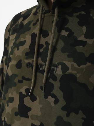 Mikina s kapucňou Element Big Hood HD (bark camo)
