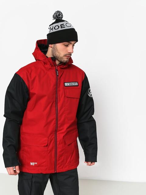 Snowboardová Westbeach bunda Bantam (chilli red)