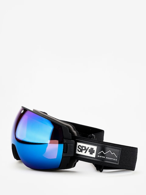 Okuliare na snowboard Spy Legacy (essential black happy rose w/dark blue spectra happy light gray green w/lucid red)