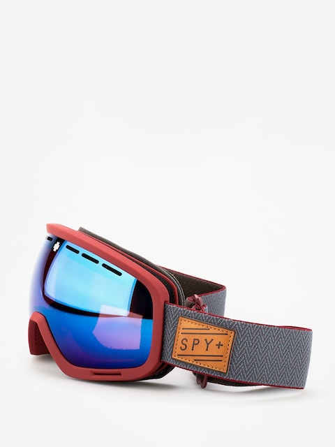 Okuliare na snowboard Spy Marshall (herringbone red happy rose w/dark blue spectra happy light gray green w/lucid red)