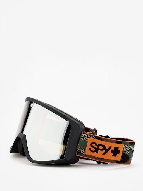 Okuliare na snowboard Spy Raider (camo happy bronze w/silver spectra persimmon)