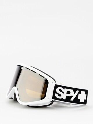 Okuliare na snowboard Spy Woot (matte white bronze w/silver spectra persimmon)